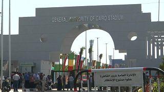 شاهد: إجراءات أمنية مشددة في مصر مع انطلاق كأس الأمم الأفريقية