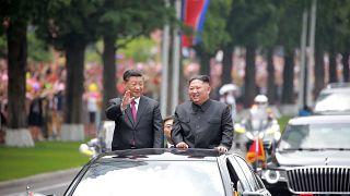 """Aliança """"invencível"""" entre China e Coreia do Norte"""