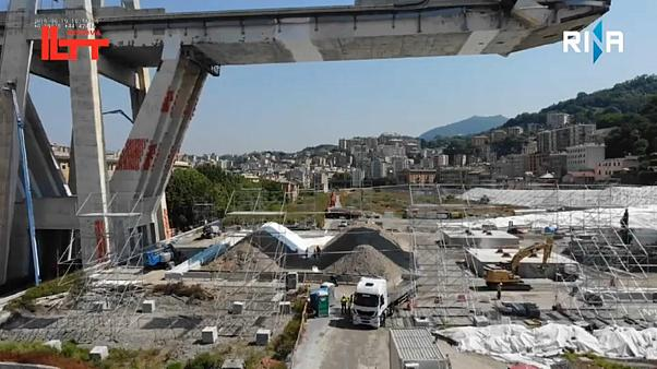 Genua: Letzte kontrollierte Sprengungen