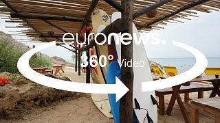"""Vídeo em 360°: O surf vai """"colocar Angola no mapa"""""""