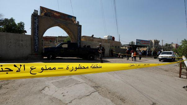 المسجد الذي تعرض للهجوم
