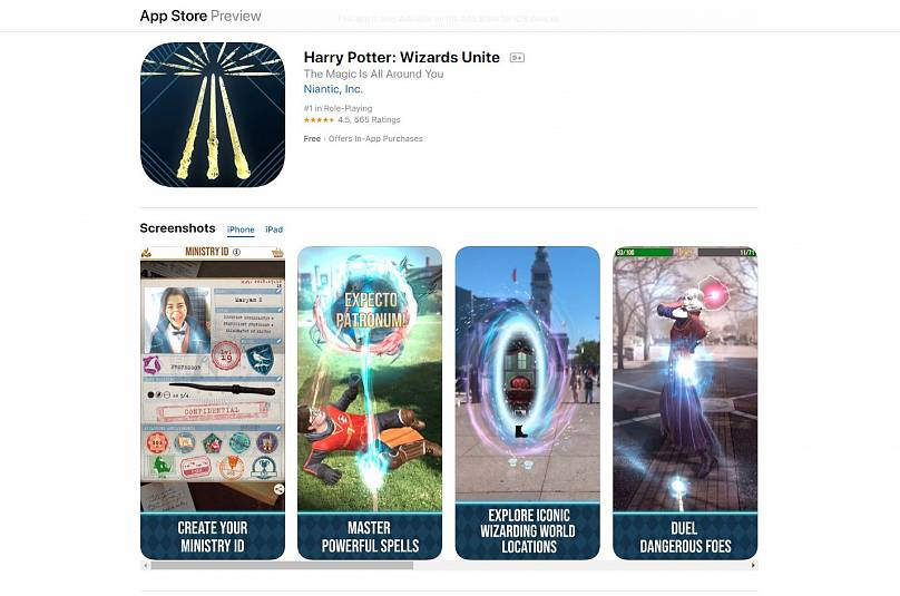 Harry Potter Wizards Unite: How can you download the game on
