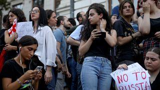 Тбилиси: новые требования демонстрантов