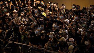 Гонконг: акции протеста не прекращаются