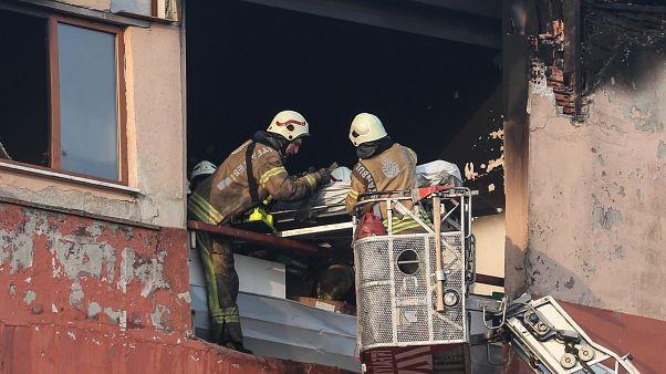 İstanbul'da fabrika yangını: 4 işçi yaşamını yitirdi