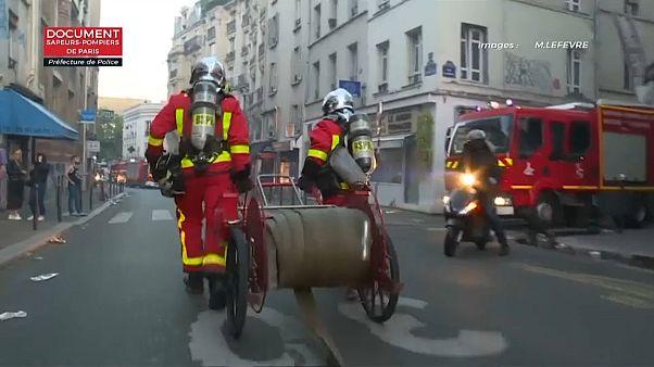 Un incendio en el centro de París deja al menos tres muertos