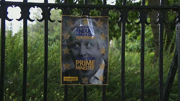 Los vecinos alertan a la policía de una estruendosa discusión entre Boris Johnson y su pareja