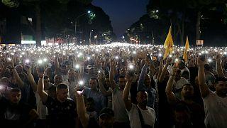 ناآرمیها در آلبانی؛ معترضان خواستار تحریم انتخابات و برکناری نخستوزیر شدند