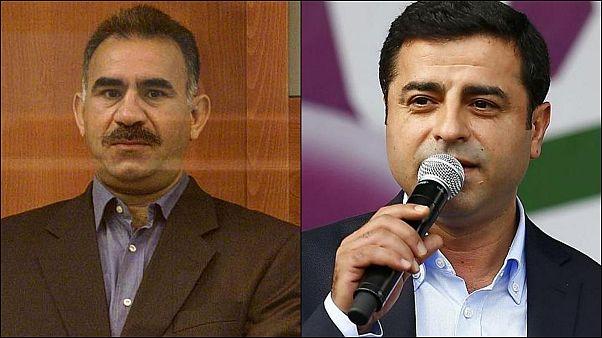 Demirtaş, Öcalan ile arasında iktidar mücadelesi olduğuna dair iddialara cevap verdi