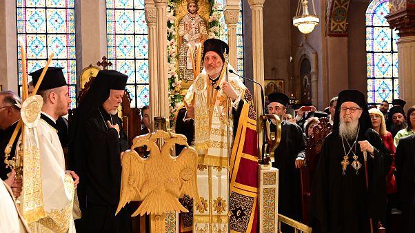 Ενθρονίστηκε ο Αρχιεπίσκοπος Αμερικής Ελπιδοφόρος