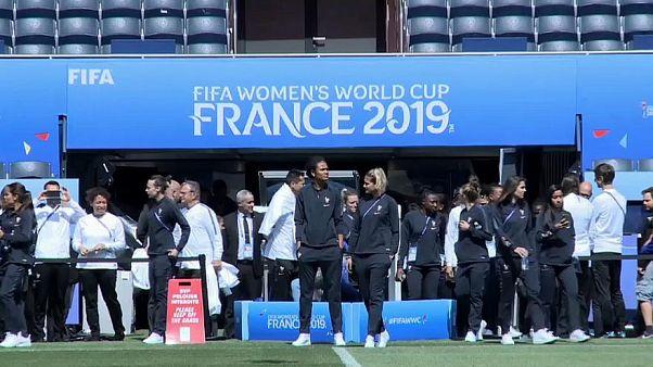 Deutschlands Fußballfrauen im Viertelfinale