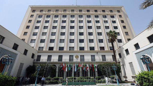 مقر جامعة الدول العربية بالقاهرة