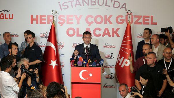 پیروزی اکرم اماماغلو، نامزد مخالفان اردوغان در انتخابات شهرداری استانبول