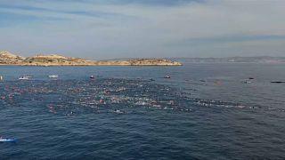 Desafio do Monte Cristo teve prova de natação noturna