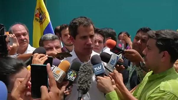 Guaidó espera mejoras tras la visita de Bachelet a Venezuela