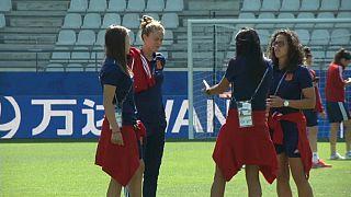 La selección española de fútbol femenino se enfrenta en octavos de final a Estados Unidos