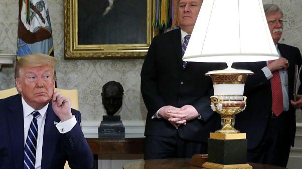 ترامپ: من به دنبال جنگ نیستم، بولتون میخواهد با تمام دنیا بجنگد