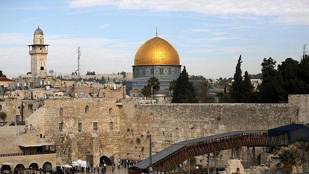 Aksa Camii yerleşkesi, Ağlama Duvarı
