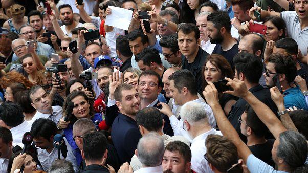 """İmamoğlu: """"İstanbullular bana kutsal bir görev vermiştir"""""""