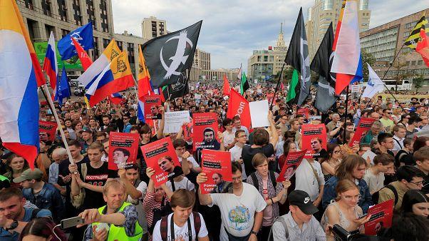 Митинг против фальсификации уголовных дел: без задержаний не обошлось