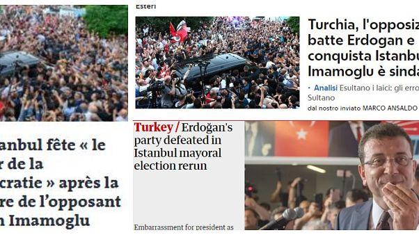 23 Haziran İstanbul seçimleri ile ilgili dünya ne dedi?