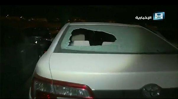 شاهد: الأضرار التي خلفها الهجوم الحوثي على مطار أبها جنوبي السعودية