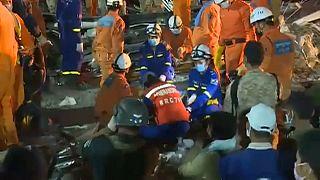 Kαμπότζη: Πολύνεκρη τραγωδία από κατάρρευση κτιρίου