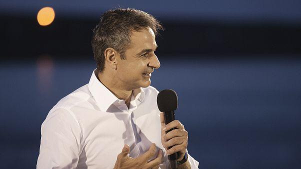 Ο πρόεδρος της Νέας Δημοκρατίας, Κυριάκος Μητσοτάκης