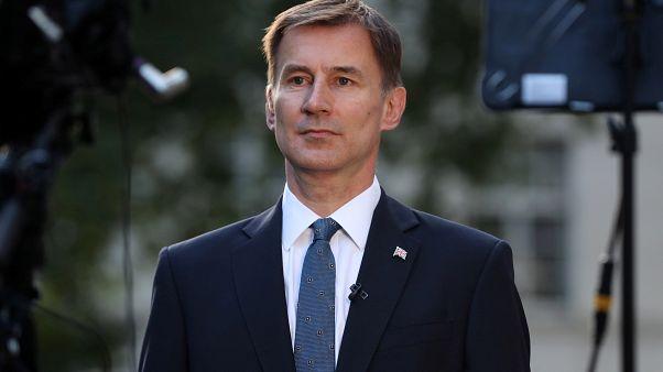 وزير الخارجية البريطانية جيرمي هنت