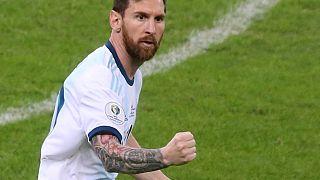 Copa America : Messi et l'Argentine encore en vie!