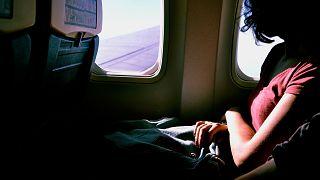 """رواية مسافرة على متن الخطوط الكندية وجدت نفسها في طائرة """"مهجورة"""" ومظلمة"""