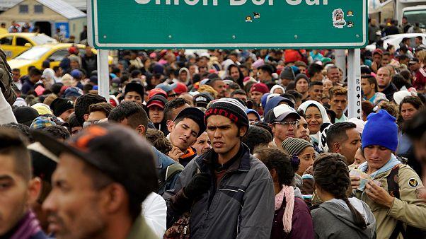 La crisis de Venezuela altera el mapa de las solicitudes de asilo en Europa