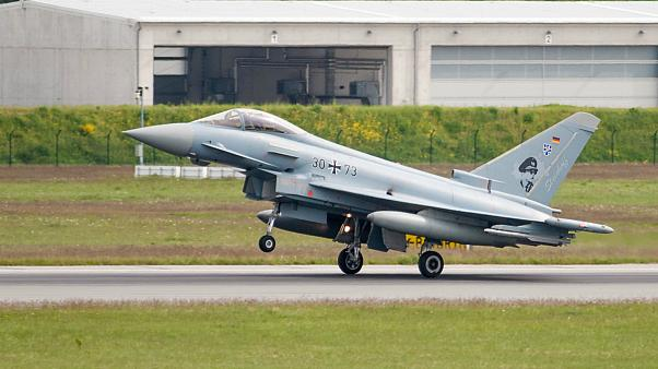 :Eurofighter Typhoon Germany 30+73 Laage