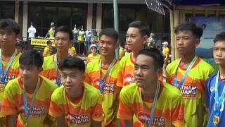 Egy éve rekedtek a thai fiúk a Tham Luang barlangban