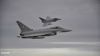 Deux Eurofighter allemands - 1er novembre 2018