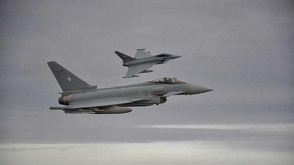 Dos Eurofighter alemanes chocan en pleno vuelo: muere uno de los pilotos