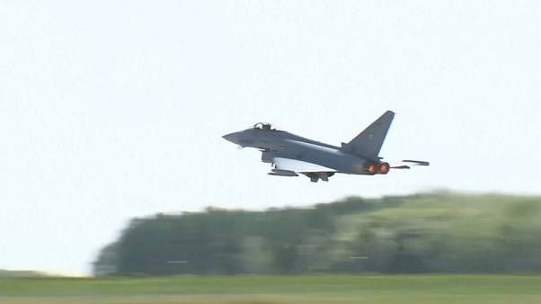 В Германии столкнулись два истребителя