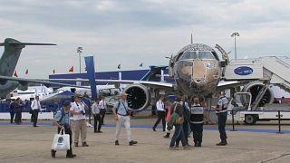 طائرة إلكترونية في معرض باريس 2019