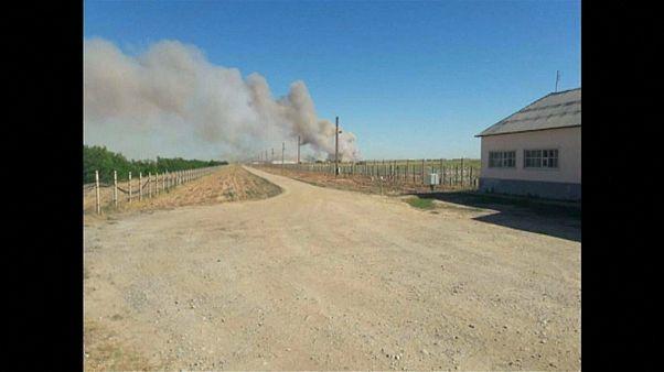 Взрывы в Арысе: город эвакуирован