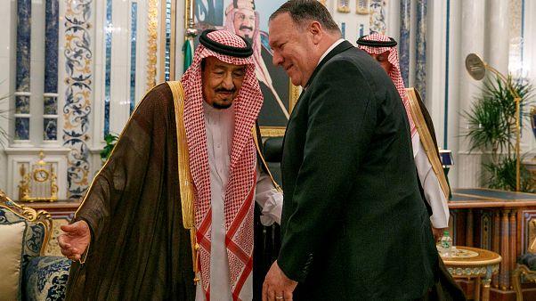 ABD Dışişleri Bakanı ile Suudi Kral'ın görüşmesinde Cemal Kaşıkçı cinayeti gündeme gelmedi
