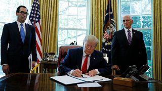 آمریکا علی خامنهای و هشت فرمانده سپاه را تحریم کرد