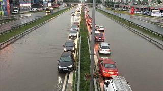 Europe centrale : inondations et vents violents