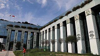 Varşova'da bulunan Polonya Yüksek Mahkemesi