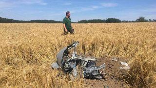 В Германии столкнулись истребители