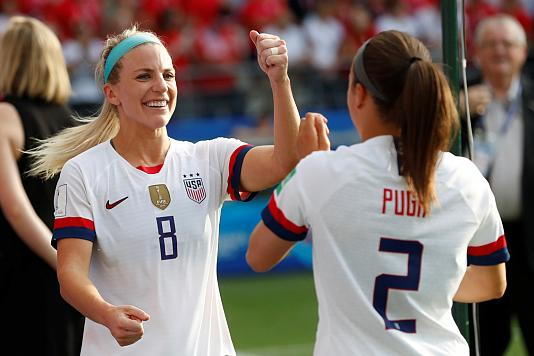 Women's World Cup Quarterfinal USTakes On France