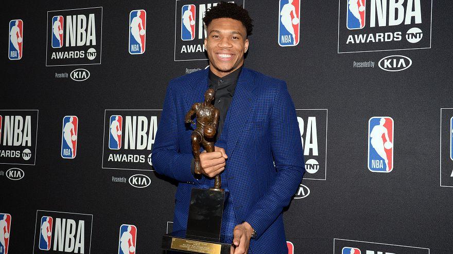 NBA: Giannis Antetokounmpo lett a szezon legértékesebb játékosa