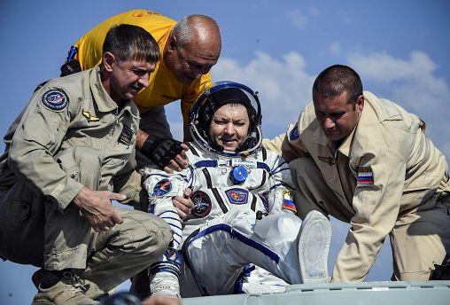 Nach sechs Monaten im All: ISS-Crew wieder auf der Erde