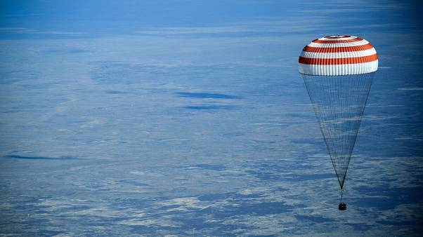На Землю вернулся экипаж с МКС
