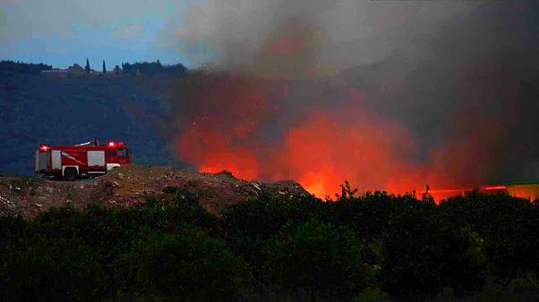 Μεγάλη πυρκαγιά στους Δελφούς - Σε ύφεση το μέτωπο της Αρτέμιδας