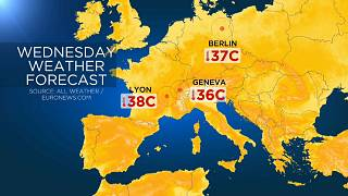 Temperatures expected to break all-time highs for June in coming days across Europe